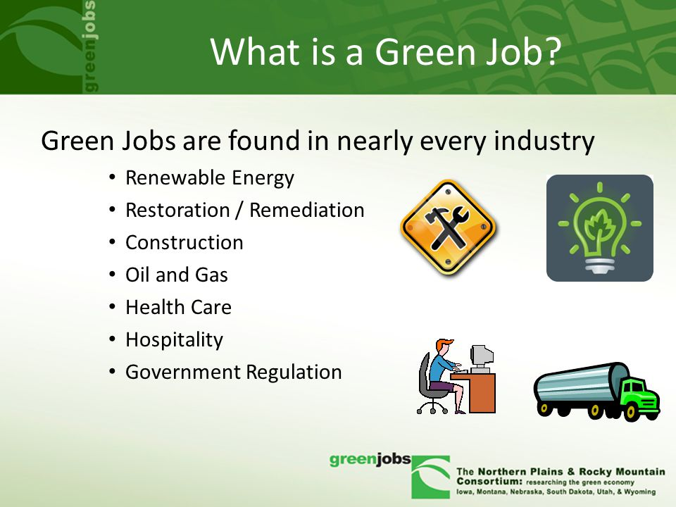 What is a Green Job.