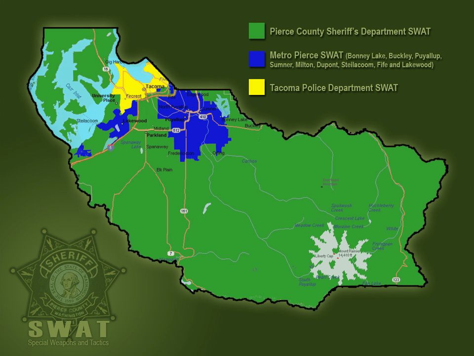 Pierce County Sheriff's Department - ppt video online download