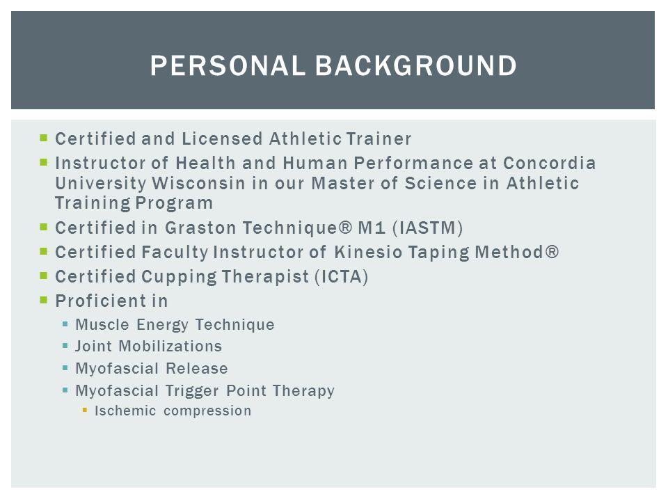 Patrick St Louis Msrs Latatc Cktf Cct Manual Therapy And