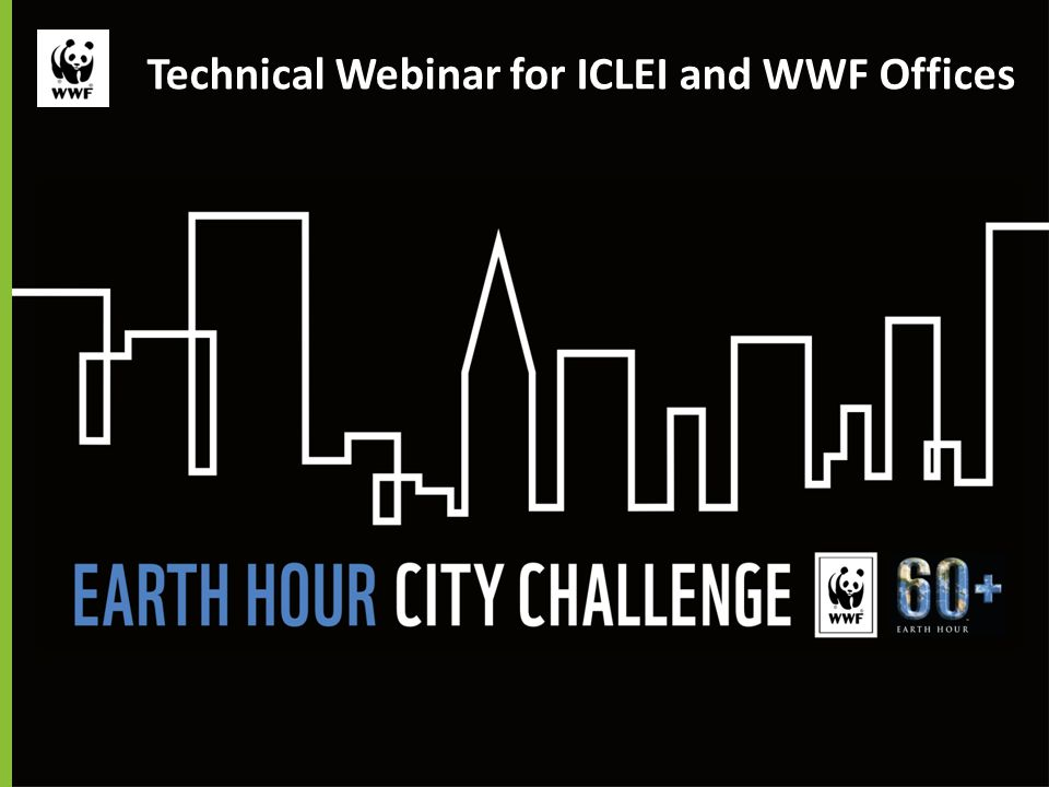 Technical Webinar for ICLEI and WWF Offices