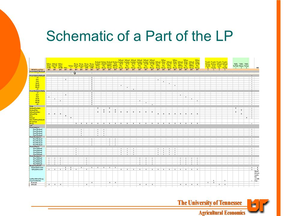 Schematic of a Part of the LP