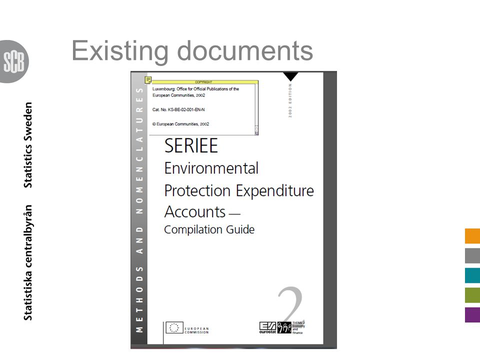 Existing documents