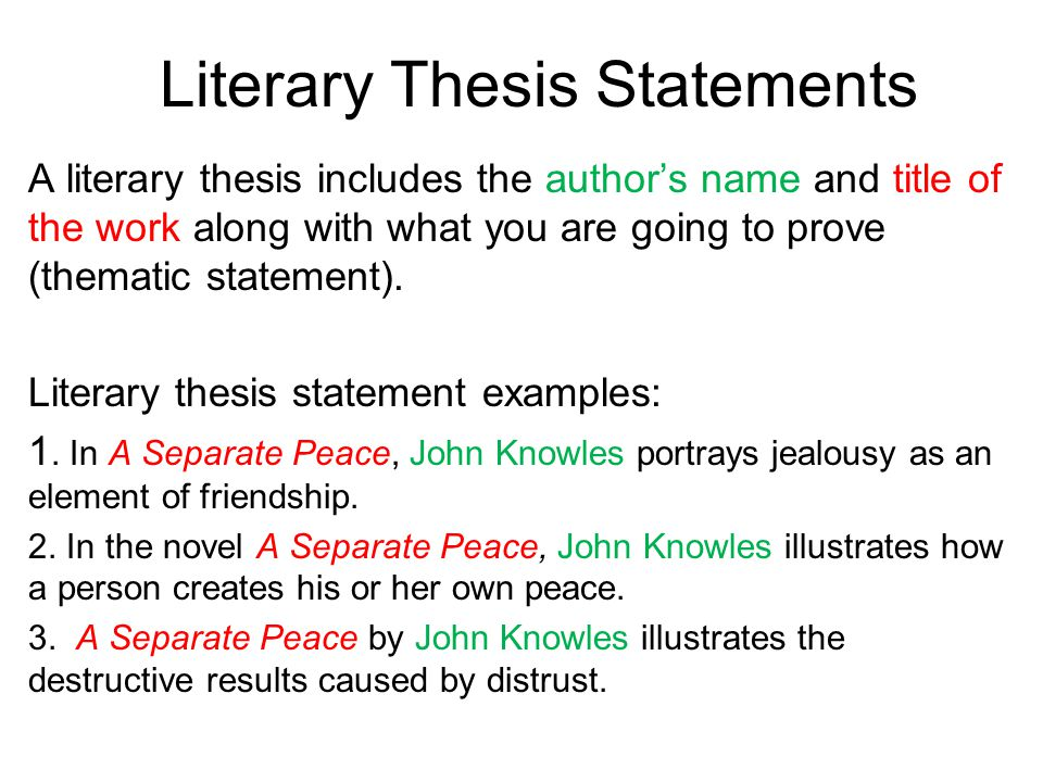 examples of thesis statements for literary essays  mistyhamel literary essay thesis examples animal abuse statement