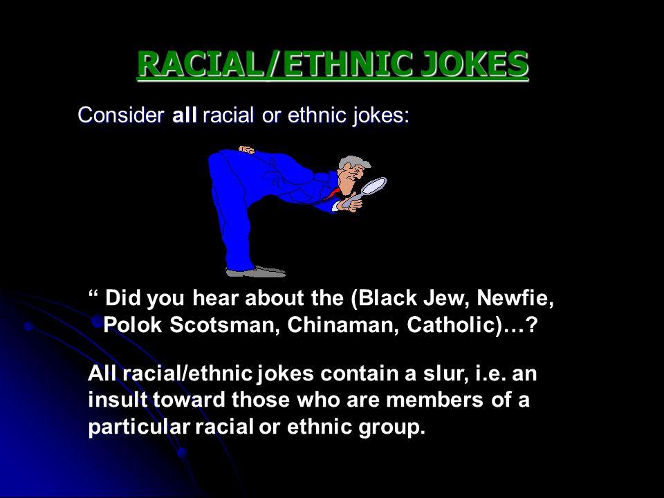 ethnic jokes black