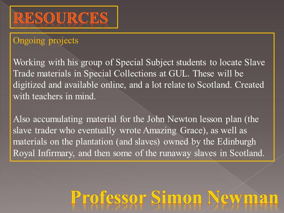 AcademicsTeachers Professor Simon NewmanKatie Hunter (University of