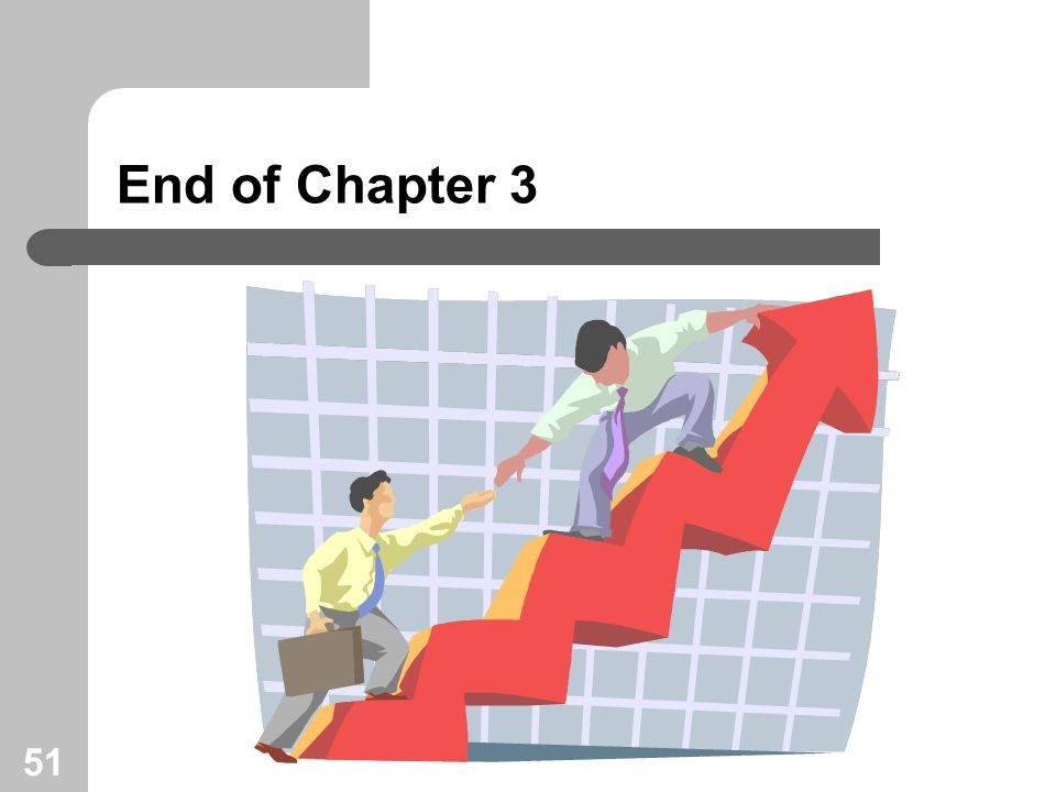 51 End of Chapter 3