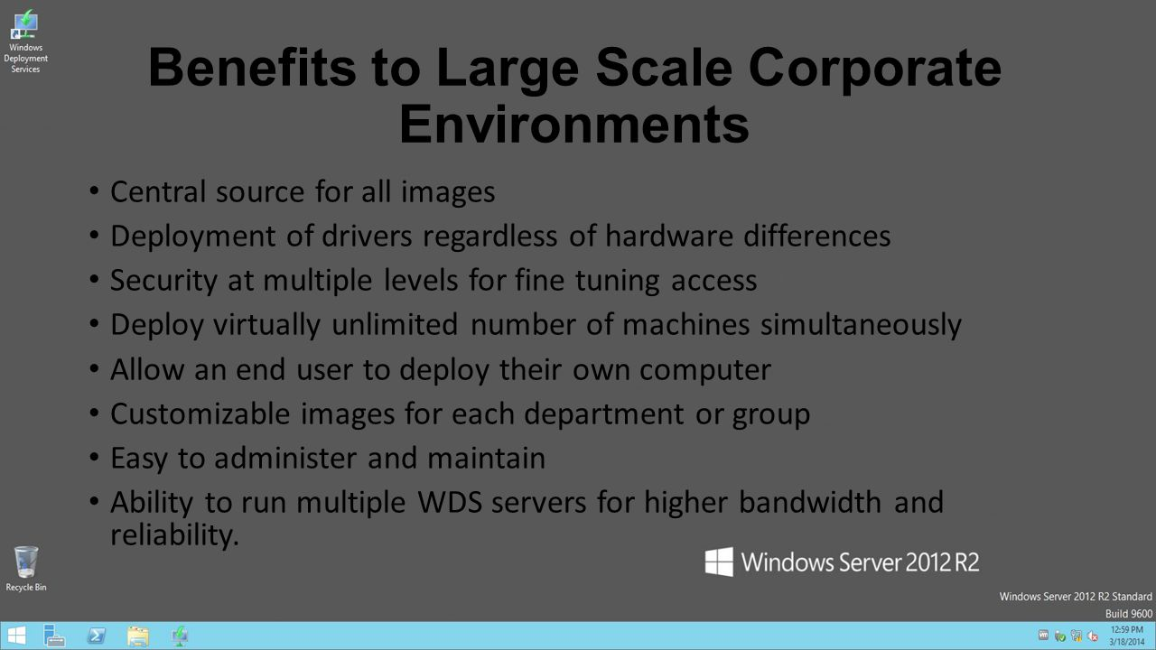 windows deployment server driver packages