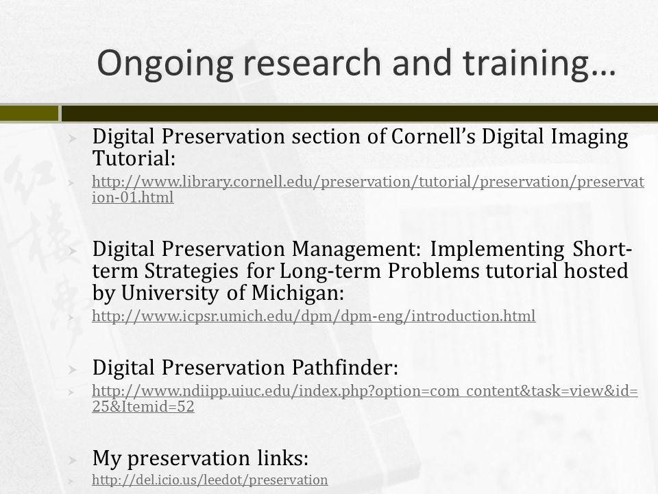 Short video tutorial on file-naming and digital preservation.