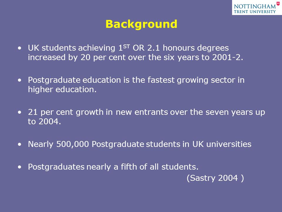 UK students achieving 1 ST OR 2.1 honours degrees increased by 20 per cent over the six years to