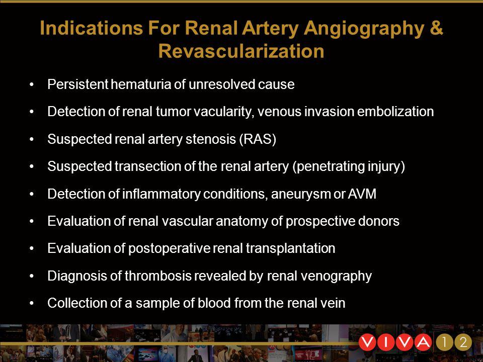 Techniques of Renal Arteriography Subhash Banerjee, MD UT