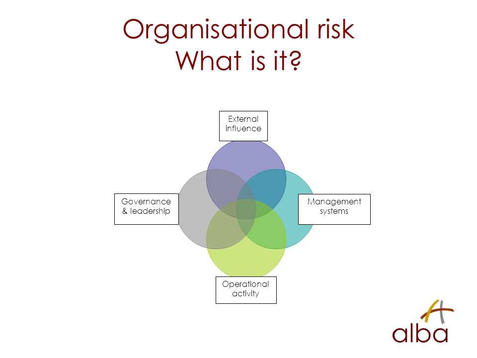 Organisational risk What is it.