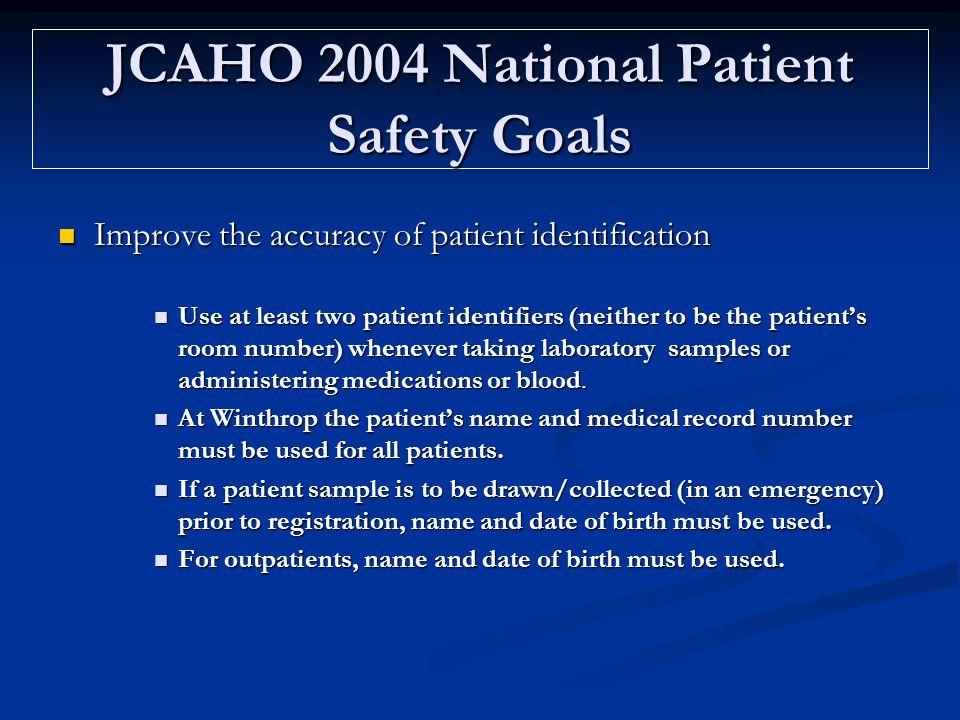 Safe Labeling of Laboratory Specimens Mandatory training