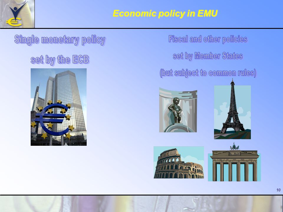 10 Economic policy in EMU