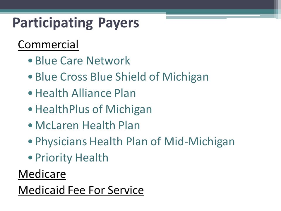 Michigan S Proposal Cms Multi Payer Advanced Primary Care Practice