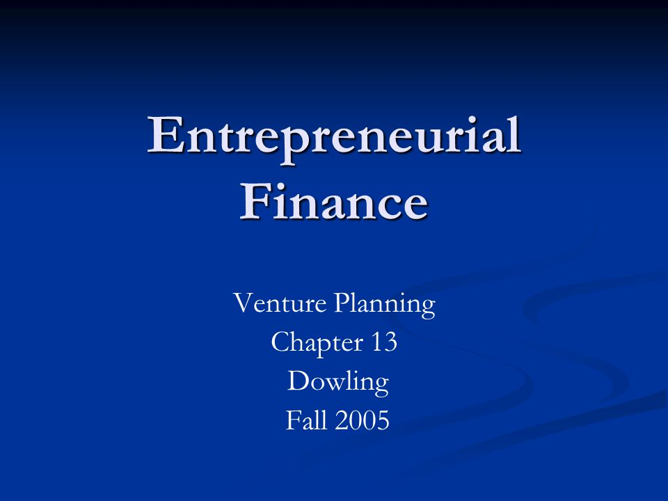 financial planning is the key to successful business operation