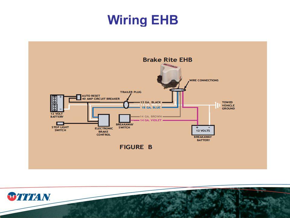 proper wire a)white & black 12 gauge b)blue 18 gauge c)violet & brown 14  gauge 2 no frame ground a)back to battery wiring ehb