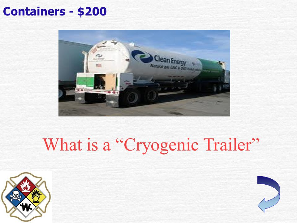 What is a Propane Tank . Containers - $100