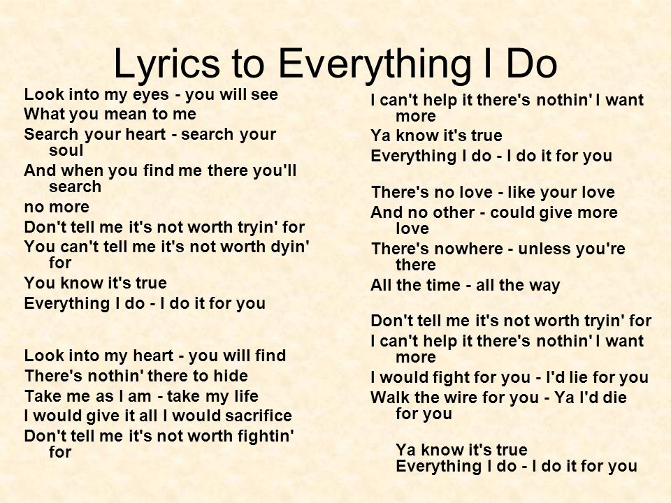 Lyric don t tell me what to do lyrics : WEEK 1 Lesson 3 Themes of Love and Devotion in Literature. - ppt ...