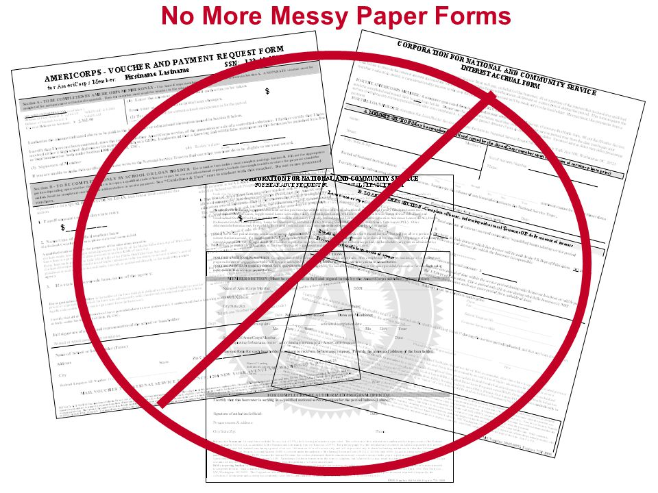 No More Messy Paper Forms