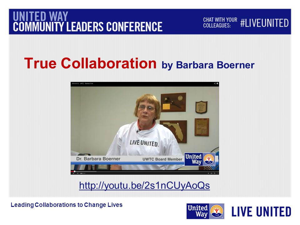 True Collaboration by Barbara Boerner   Leading Collaborations to Change Lives