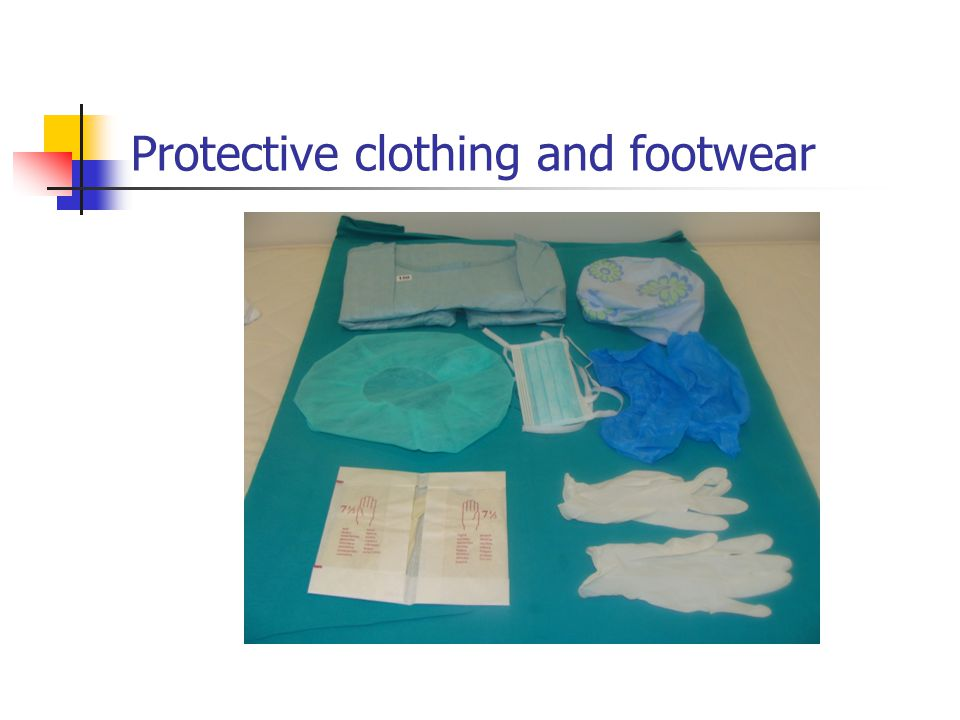 Protective clothing and footwear