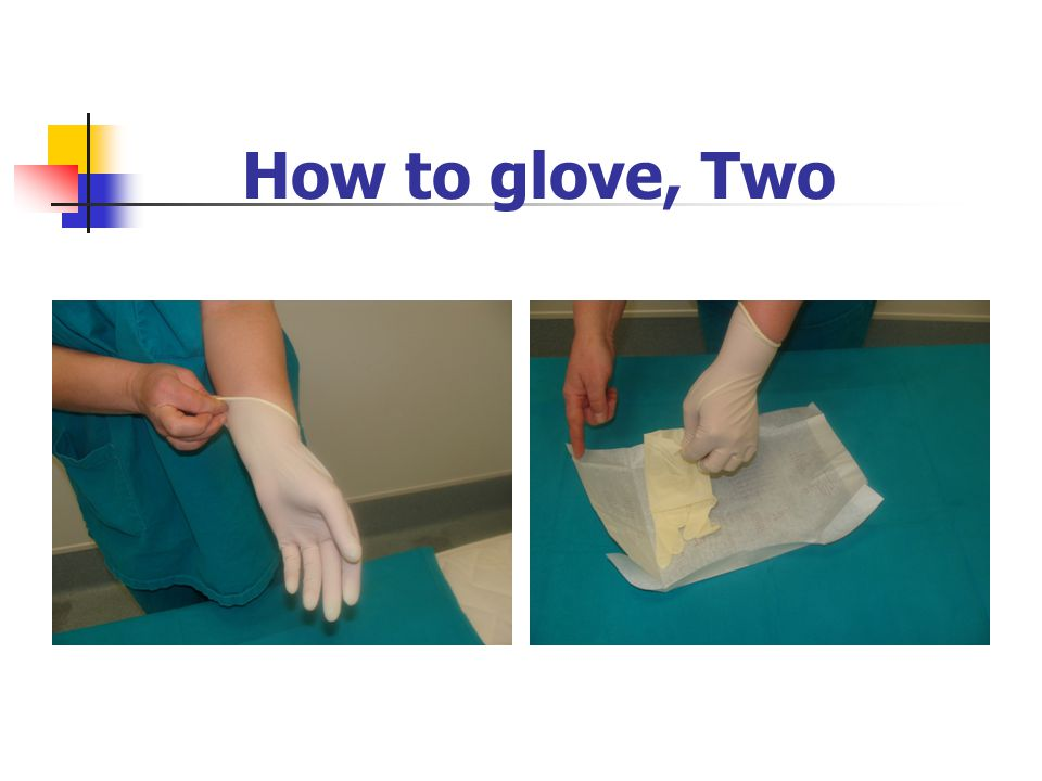 How to glove, Two