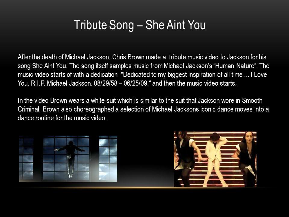 Chris Brown & Michael Jackson By: Wrenae Hylton & Skylla