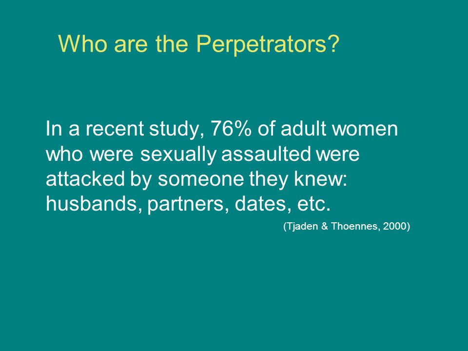 Who are the Perpetrators.