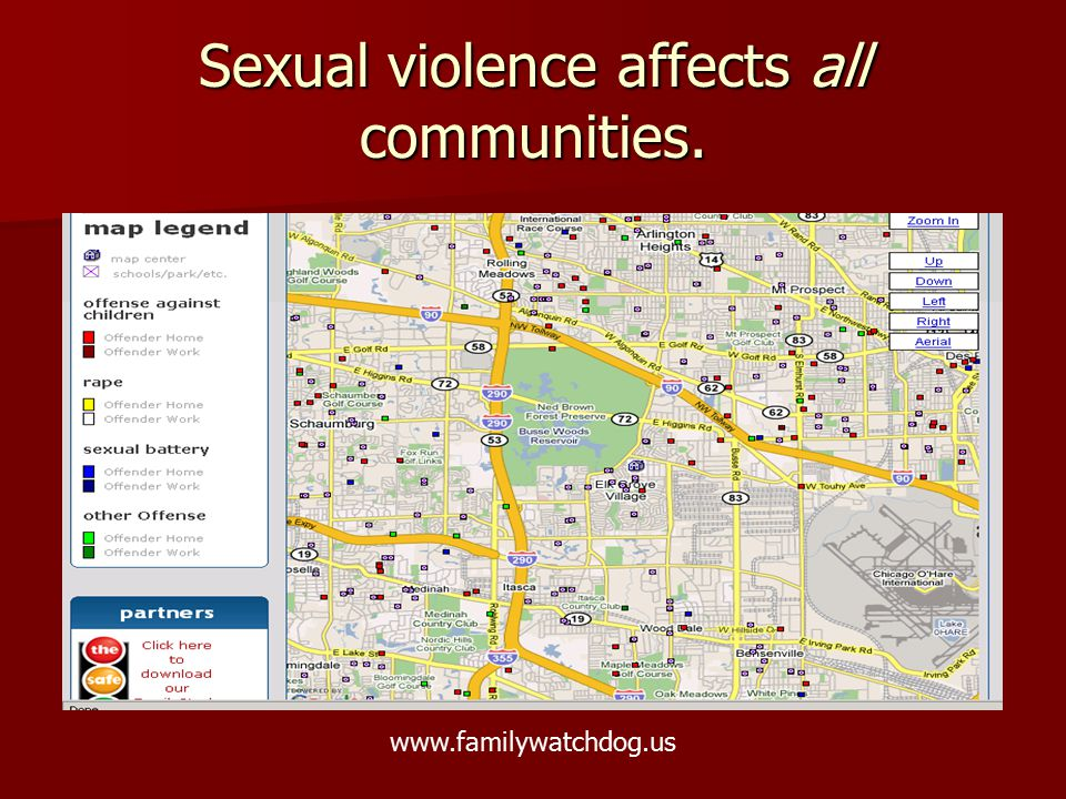 Sexual violence affects all communities.