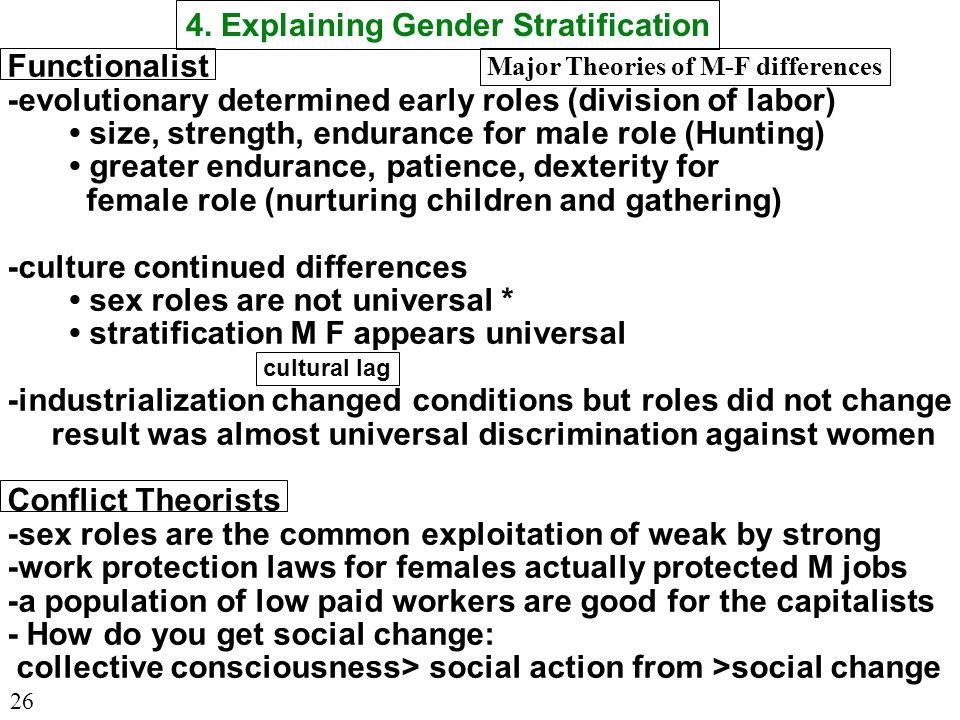 Soc 100 Lecture 18 C10 Edit 3 05 03 Gender Stratification Ppt Download