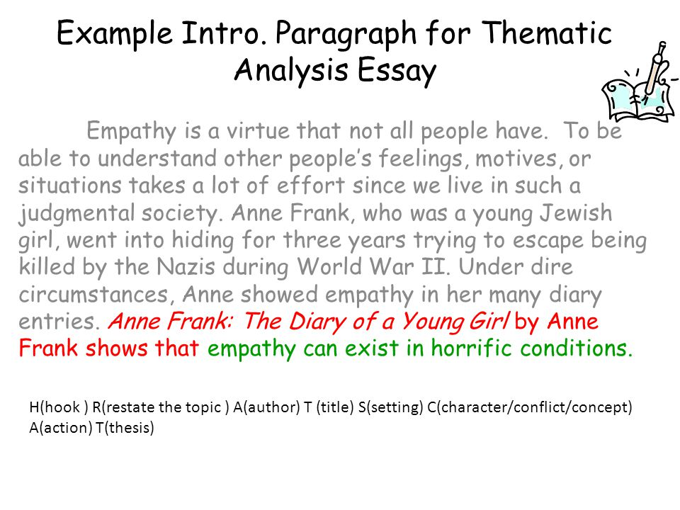 How to Write a Thematic Essay: Tips and Tricks