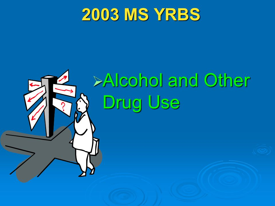 2003 MS YRBS 2003 MS YRBS  Alcohol and Other Drug Use