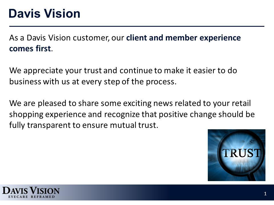 Update: Visionworks Retail Stores Rebrand  As a Davis Vision