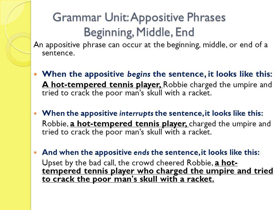 begin or begins grammar