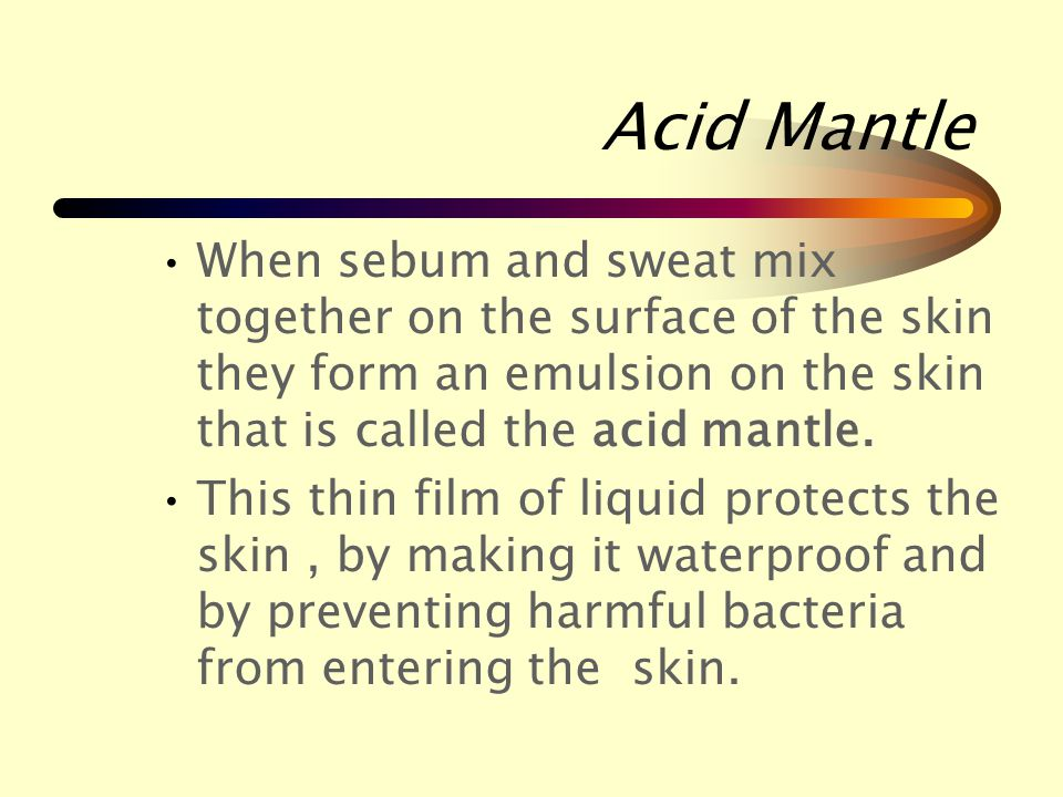 Secretion  Sebum is an oil that is secreted from the sebaceous gland.