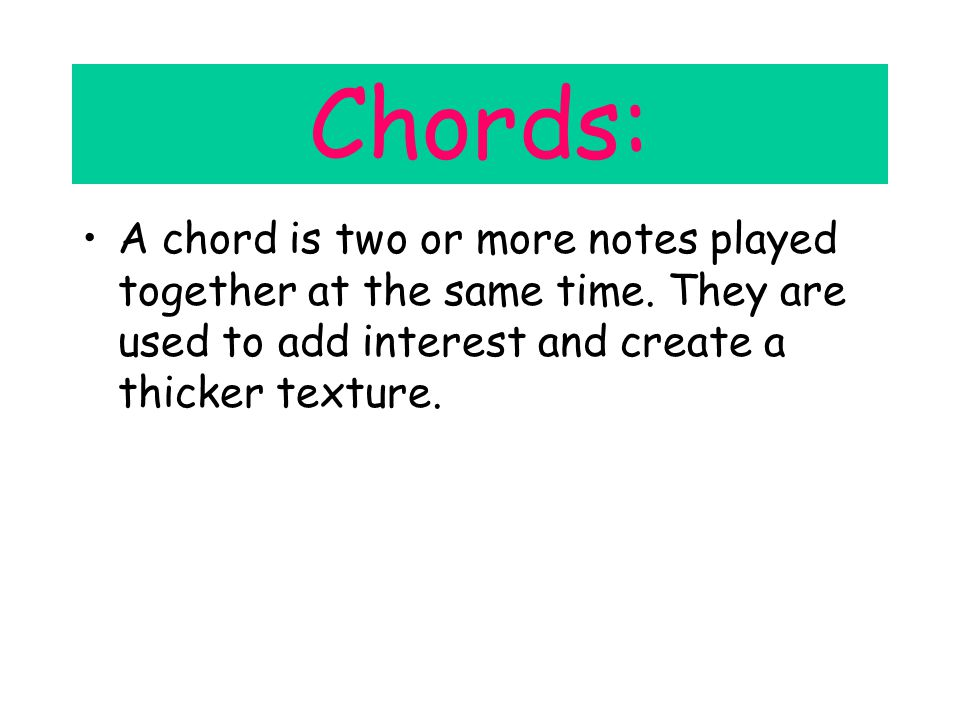 Music Revision For Year 8 A guide to help me get a better result for ...