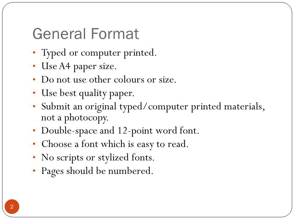 how do you write a report paper
