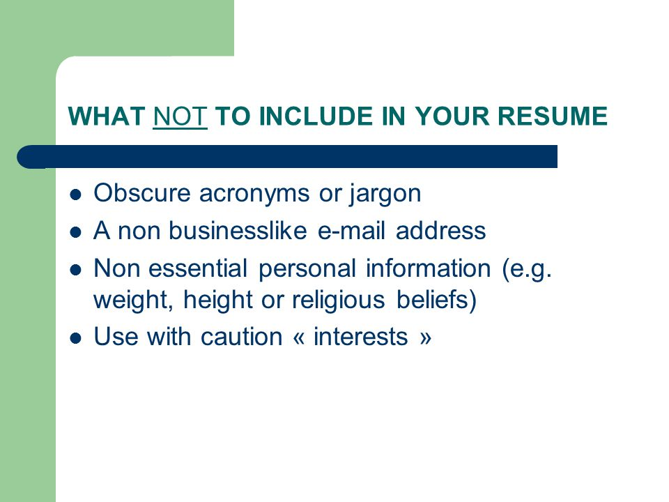 working in canada applying for a job the resume in canada always