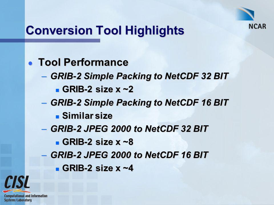 TIGGE, GRIB to NetCDF converter Doug Schuster (NCAR/ECMWF
