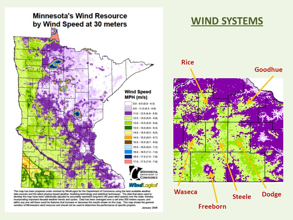 Rice Goodhue Waseca Dodge Steele Freeborn WIND SYSTEMS