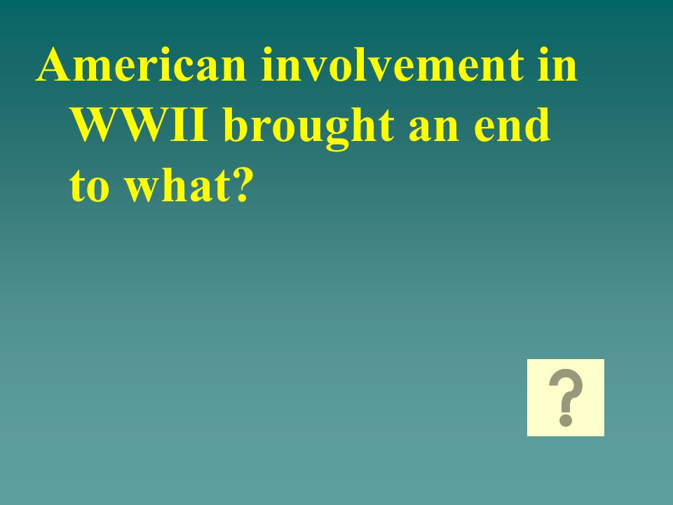 What is: America moving from a consumer-producing country to a war materials producing country
