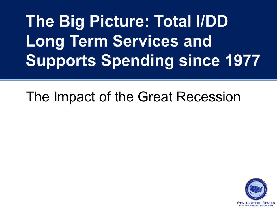 The Impact of the Great Recession