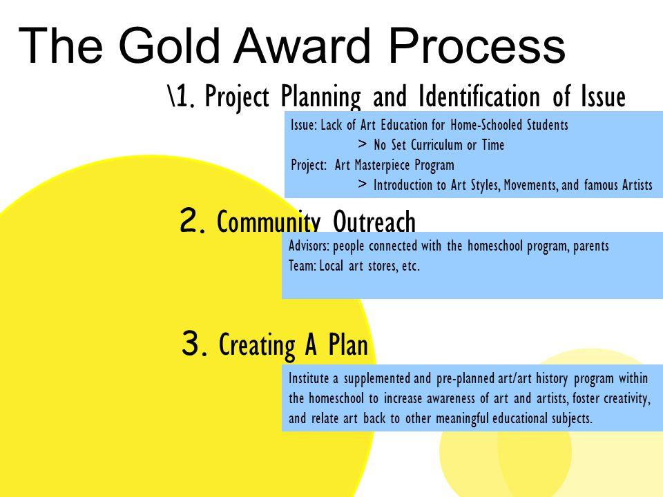 Art Masterpiece Gold Award Project Kit Bernal Troop Ppt Download