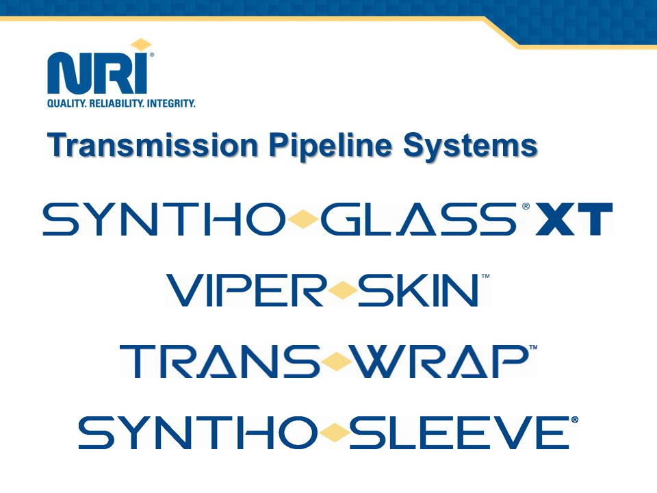 Transmission Pipeline Systems