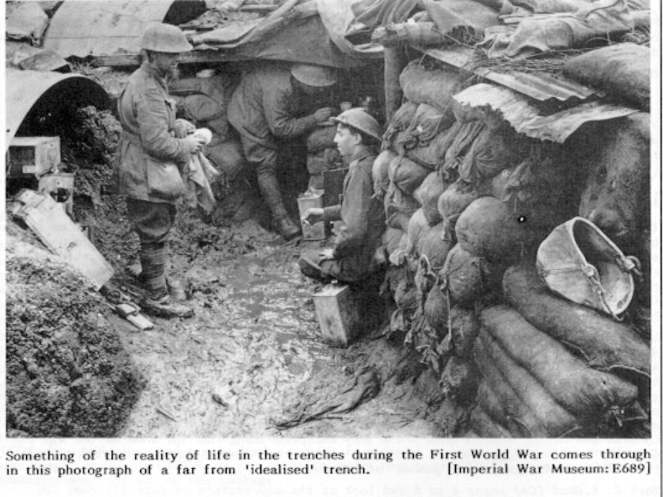 Trench Warfare Life In The Trenches  Trench Types Firing