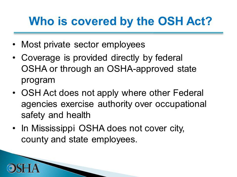 Excavation Review 1   OSHA began because, until 1970