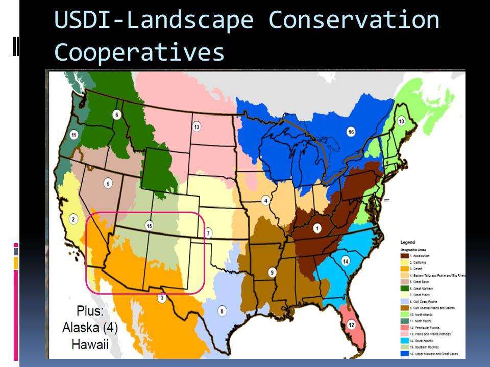 USDI-Landscape Conservation Cooperatives
