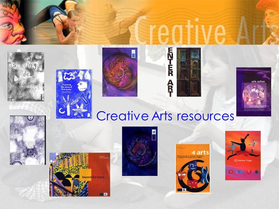 Creative Arts resources
