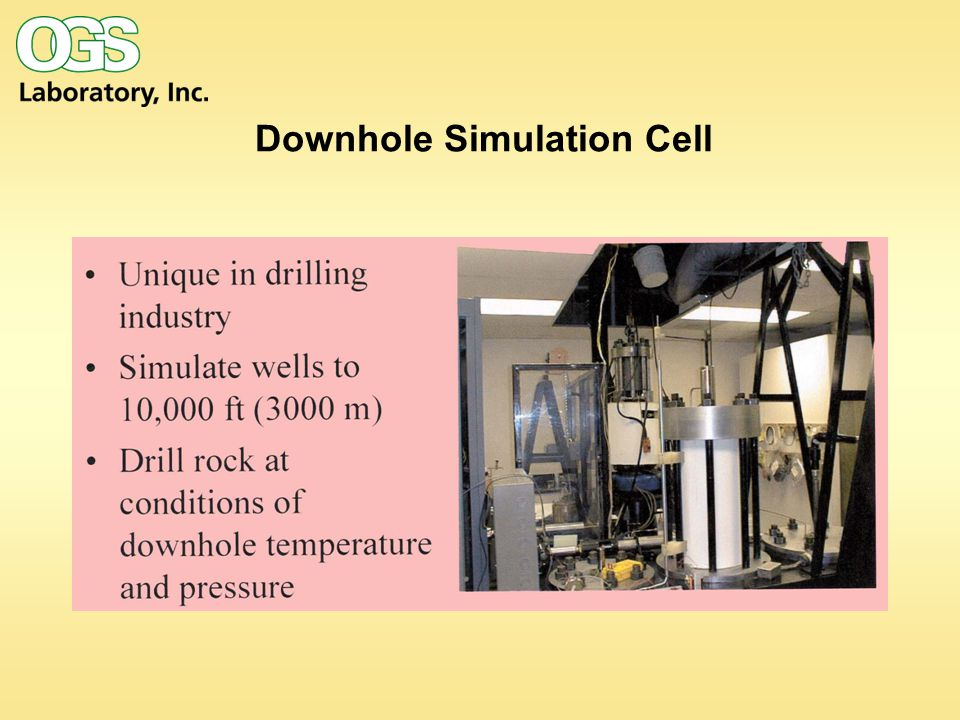 Downhole Simulation Cell