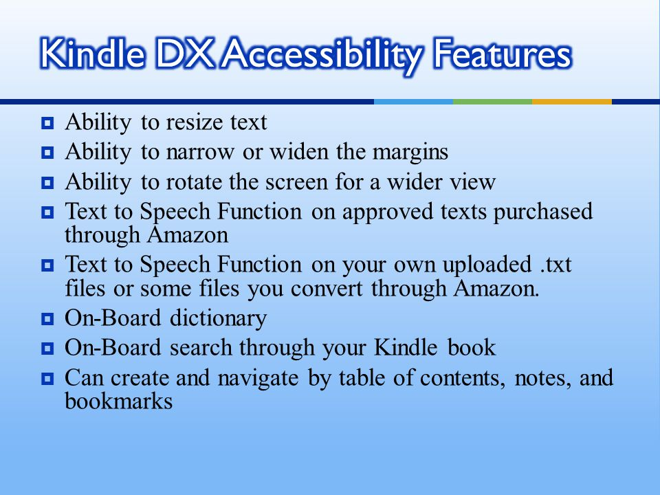 Kindle Dx Hacks